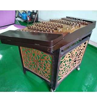 二手揚琴(含琴架,附琴盒,無琴槌)