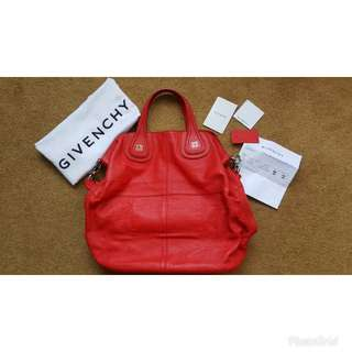 Givenchy nightiangle shopper in Red