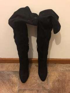 Zu Thigh High Boots