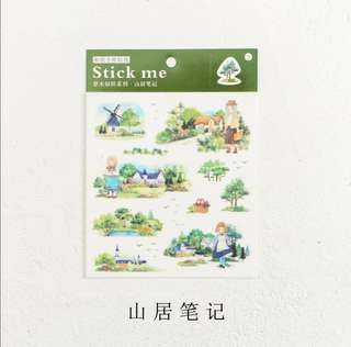 [Pre] Infeel Me Nature Plant Series Sticker