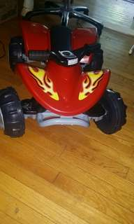 New Atv for toddler Not electronic.