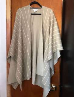 Oak & Fort oversized shawl