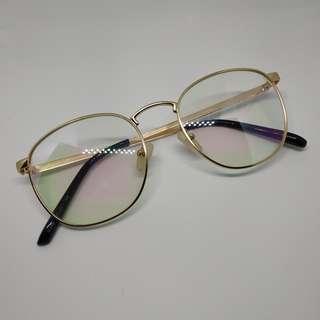 Gold metal specs