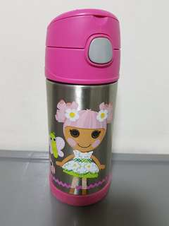 Thermos Lalaloopsy Funtainer with new sets of replacement straw