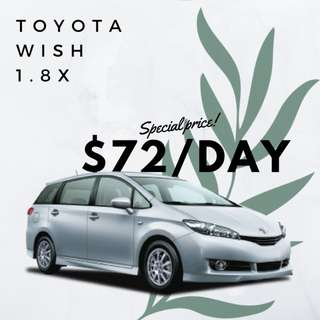 Toyota Wish 1.8 X