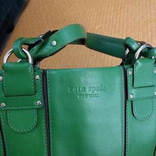 Kate Spade authentic green collection bag