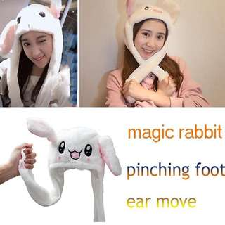 Trendy Bunny moving ear Hat