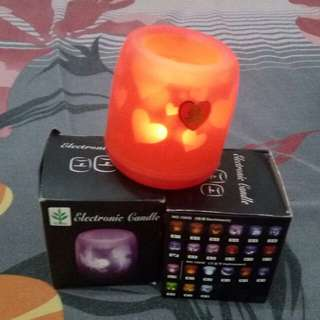 2 Pcs Electronik candle