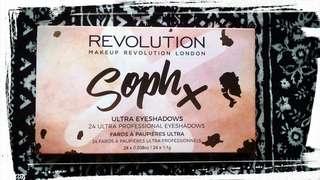 Revolution soph x eyesadow palette
