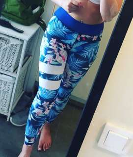 NEW yoga/dance/workout tights, Sz 6-8