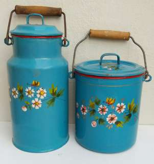 Enamelware 2 pc set