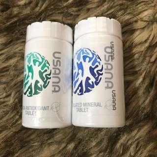 Usana Authentic Brand/Mega AntiOxidant/Chelated Mineral