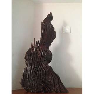 Wood Carved Decor