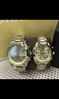 Mk orig  couple watches pawnable.. .. With manual 1 year warranty