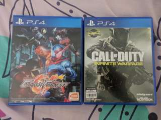 Kamen Rider and COD: IW PS4