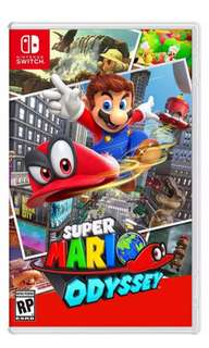 Super Mario Odyssey ( finish played, or exchange to other games)
