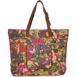 SAKROOTS Travel Bag Slate Flower Power
