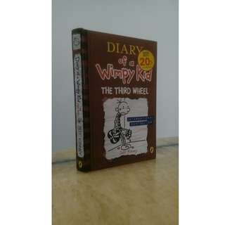 (Read for FREE!!) Diary of a Wimpy Kid: The Third Wheel - by Jeff Kinney