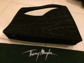 99% New Thierry Mugler Iron Shape Handbagq