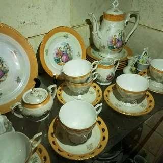tea set japan antik