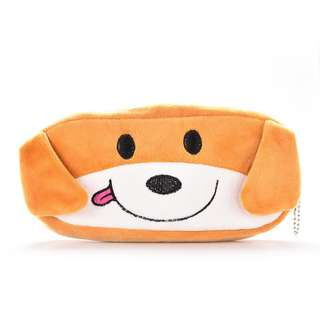 🐶BN INSTOCK Adorable Brown Dog Soft Pencil Case