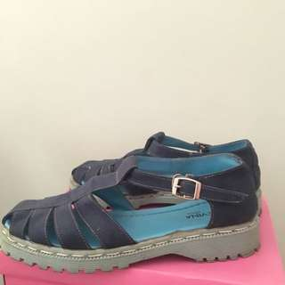 Clevina Jeans Shoes