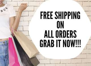 Free Shipping on All Orders!!!