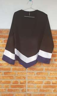 Blouse tunik black