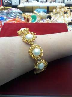 Pearl brecelet hand made, pls bisit my shop, have any disighn
