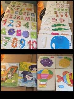 兒童學習拼圖板(ALL)