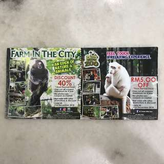Farm in the city voucher