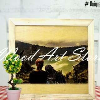 Foto, Jam, Art wood