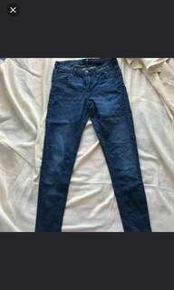 H&M Highwaist DarkWash Jeans