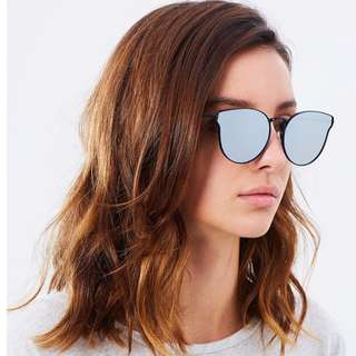 quay all in love sunglasses 澳洲款貓眼太陽眼鏡 二手