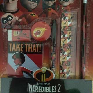 Incredibles Pencil Set