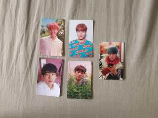 BTS love yourself her photocard Jin Jhope Suga