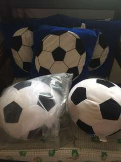 imported pillow soccer ball