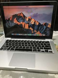 Macbook Pro 13'inch Mid 2012 i7 2,9 ghz
