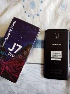 Samsung j7 pro matte black 32gb complete