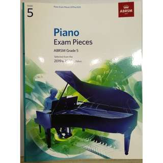 ABRSM Piano 2019-2020 Grade 5 Practical Examination Book without CD Free Normal Mail