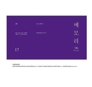 [PO] BTS MEMORIES OF 2017