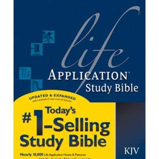 Life Application Study Bible KJV by Tyndale