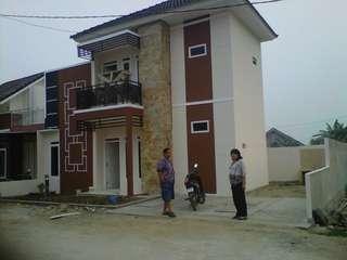 Dijual rumah cluster 2 lantai