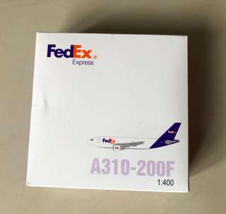 FedEx miniature plane