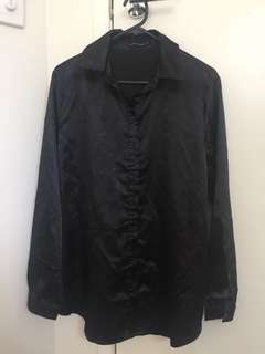 Pretty little thing black silly blouse