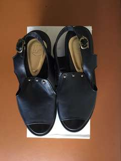 13th shoes black platform