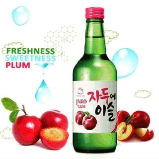 Jinro Soju - Green Grape, Peach, Grapefruit, Moscato, Plum