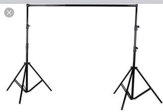 2m x 2m retractable stand for photo booth or backdrop