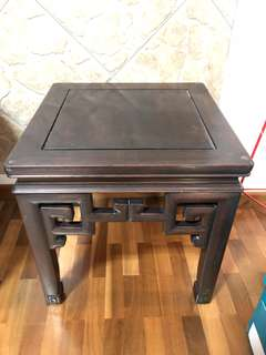 Tv console and side table (old rosewood)