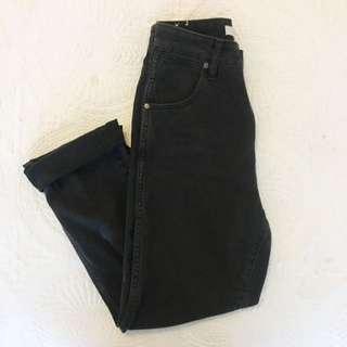 Wrangler Hi Birkin Cropped High Waited Jeans 6